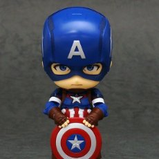 Cómics: NENDOROID 618 CAPITAN AMERICA: HERO'S EDITION.GOOD SMILE.JAPÓN.100% ORIGINAL.VENGADORES. Lote 175639757