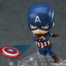 Cómics: NENDOROID 618 CAPITAN AMERICA: HERO'S EDITION.GOOD SMILE.JAPÓN.100% ORIGINAL.VENGADORES. Lote 175639757