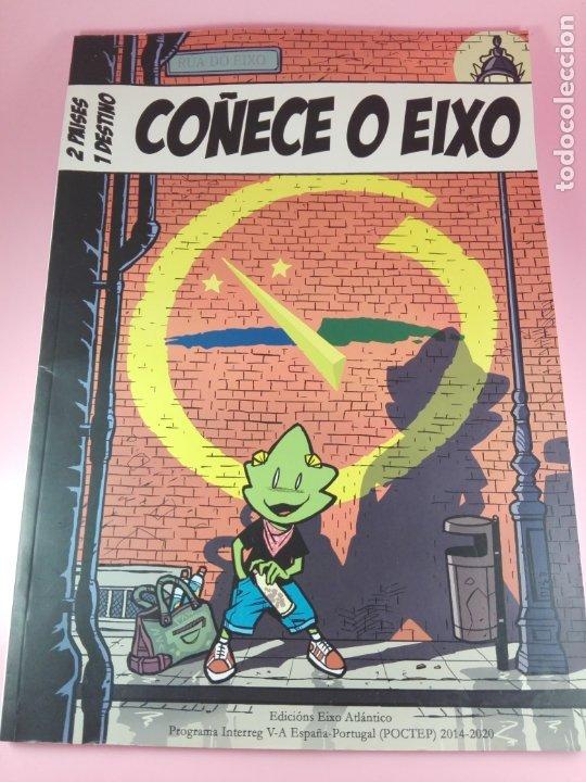 Cómics: COMIC-2 PAISES.1 DESTINO-COÑECE O EIXO-2019-VER FOTOS - Foto 2 - 176028405