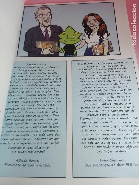 Cómics: COMIC-2 PAISES.1 DESTINO-COÑECE O EIXO-2019-VER FOTOS - Foto 7 - 176028405