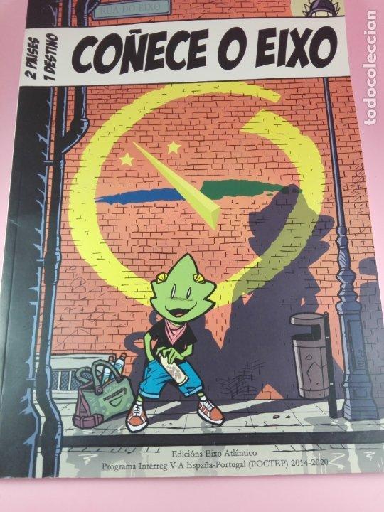 COMIC-2 PAISES.1 DESTINO-COÑECE O EIXO-2019-VER FOTOS (Tebeos y Comics - Comics Merchandising)