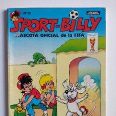 Cómics: SPORT-BILLY N 10 EL PATÍN DE ORO - EDICIONES RECREATIVAS - MASCOTA OFICIAL DE LA FIFA 1982. Lote 176239770