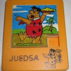 Cómics: PUZZLE MINI LABERINTO THE FLINTSTONES, PEDRO PICAPIEDRA 9 X 7,5 CMTS. JUEDSA AÑOS 80. Lote 176392540