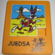 Cómics: PUZZLE MINI LABERINTO BUGS BUNNY 9 X 7,5 CMTS. JUEDSA AÑOS 80. Lote 176392580