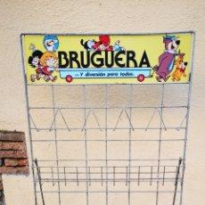 Cómics: EXPOSITOR BRUGUERA ANTIGUO. MUY DIFÍCIL DE ENCONTRAR. Lote 177596814