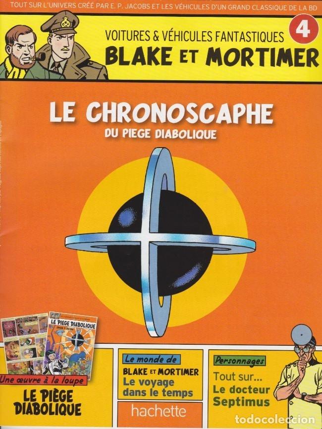 Cómics: BLAKE Y MORTIMER - CHRONOSCAPHE & FASCICULO - Foto 2 - 177626144