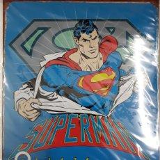 Cómics: CALENDARIO PERPETUO METÁLICO. SUPERMAN. Lote 177765093