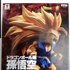 Cómics: FIGURA SON GOKU STAGE 10 SUPER SAIYAN 3 DRAGON BALL GT BANPRESTO. Lote 178195908