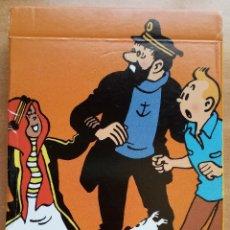 Cómics: CARTAS DE JUEGO TINTIN. JUEGO DE LAS FAMILIAS 2. HERGÉ / MOULINSART 2010. Lote 178564571