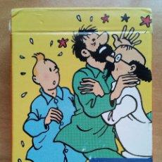 Cómics: CARTAS DE POKER LA FAMILLE DE TINTIN. HERGÉ / MOULINSART 2007. Lote 178566280