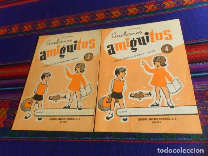Cómics: CUADERNOS AMIGUITOS Nº 4 CON PEDRO PICAPIEDRA Y EL PATO DONALD WALT DISNEY. SIN USO. REGALO Nº 7. - Foto 2 - 180218412