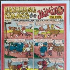 Cómics: JAIMITO TEMATICOS (VALENCIANA). FICHA TAMAÑO POSTAL PORTADA Nº 1. BEITIA & ILLERA. NUEVA. Lote 182726211