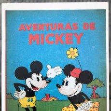 Cómics: MICKEY (SATURNINO CALLEJA). FICHA TAMAÑO POSTAL PORTADA Nº 1. BEITIA & ILLERA. NUEVA.NO ES UN TEBEO. Lote 182736626