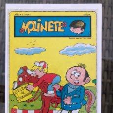 Fumetti: MOLINETE 1970 (DULMA). FICHA TAMAÑO POSTAL PORTADA Nº 1. BEITIA & ILLERA. NUEVA. (NO ES UN TEBEO). Lote 182778821