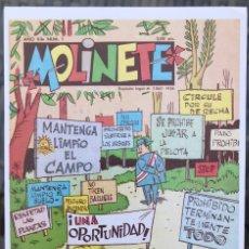 Fumetti: MOLINETE 1967. FICHA TAMAÑO POSTAL PORTADA Nº 1. BEITIA & ILLERA. NUEVA. (NO ES UN TEBEO). Lote 182779458