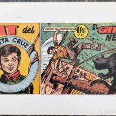 Cómics: NAT DE LA SANTA CRUZ. FICHA TAMAÑO POSTAL PORTADA Nº 1. BEITIA & ILLERA. NUEVA. Lote 182781872