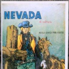 Cómics: OESTE (EDICIONES BOIXHER). FICHA TAMAÑO POSTAL PORTADA Nº 1. BEITIA & ILLERA. NUEVA. Lote 182782985