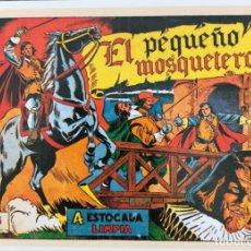 Fumetti: EL PEQUEÑO MOSQUETERO. FICHA TAMAÑO POSTAL PORTADA Nº 1. BEITIA & ILLERA. NUEVA. NO ES UN TEBEO. Lote 182793551