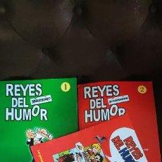 Cómics: REYES DEL HUMOR DIFÍCIL COLECCIÓN SOBRE PERSONAJES TEBEOS BRUGUERA (MORTADELO, CARPANTA...) ALTAYA. Lote 183810077