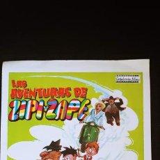 Cómics: LAS AVENTURAS DE ZIPI Y ZAPE PROGRAMA DE LA PELÍCULA MARY SANTPERE ENRIQUE GUEVARA. Lote 183842830