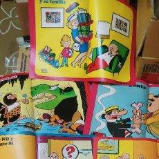 Cómics: LOTE POSTERS BRUGUERA : CARPANTA, DON PIO, AGAMENON, APOLINO TARUGUEZ, DOÑA TECLA BISTURIN, HUG .... Lote 183928136