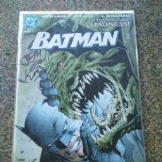 Cómics: BATMAN Nº 610 -- EDICION USA -- FIRMADO POR JEPH LOEB -- DC -- . Lote 186011368