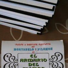 Cómics: PROGRAMA DE CINE FOLLETO ORIGINAL MORTADELO Y FILEMÓN EL ARMARIO DEL TIEMPO ESTUDIOS VARA CEPICSA. Lote 187448886