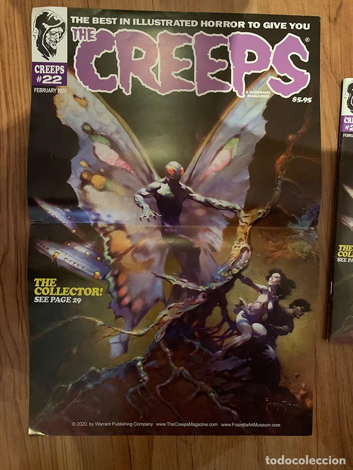 POSTER FRANK FRAZETTA PORTADA THE CREEPS 22 - WARRANT PUBLISHING - CREEPY (Tebeos y Comics - Comics Merchandising)