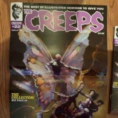 Cómics: POSTER FRANK FRAZETTA PORTADA THE CREEPS 22 - WARRANT PUBLISHING - CREEPY. Lote 187484483