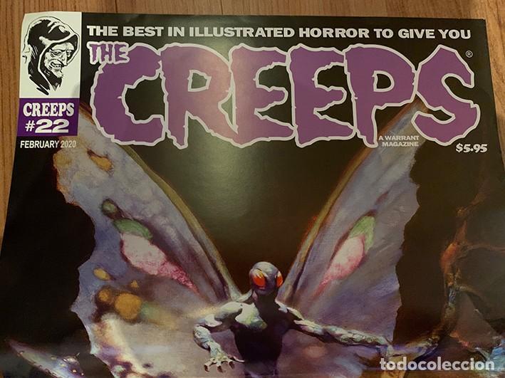 Cómics: POSTER FRANK FRAZETTA PORTADA THE CREEPS 22 - WARRANT PUBLISHING - CREEPY - Foto 6 - 187484483