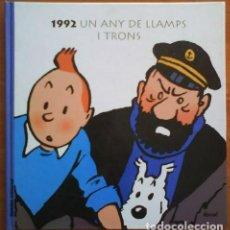 Cómics: 1992 CALENDARIO TINTÍN. Lote 204375731