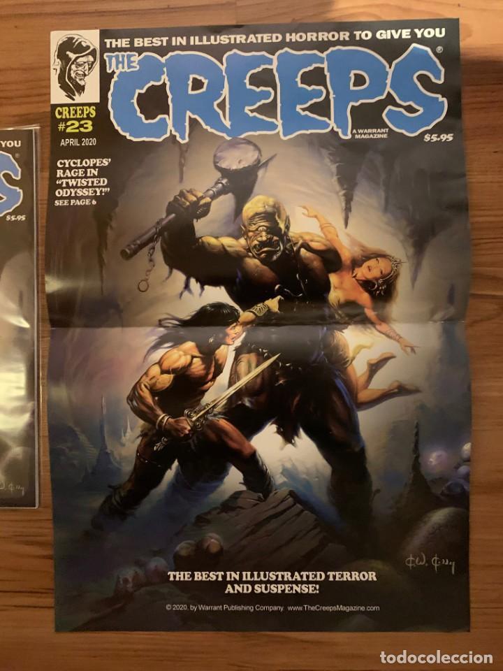 POSTER KEN KELLY PORTADA THE CREEPS 23 - WARRANT PUBLISHING - CREEPY (Tebeos y Comics - Comics Merchandising)