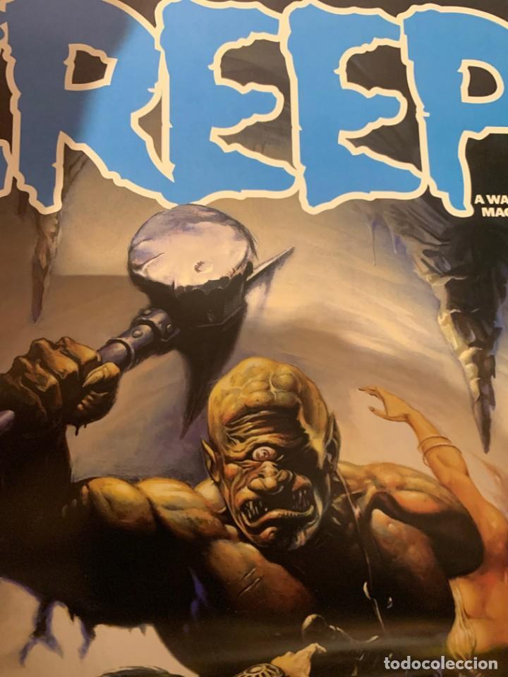 Cómics: POSTER KEN KELLY PORTADA THE CREEPS 23 - WARRANT PUBLISHING - CREEPY - Foto 5 - 190996897