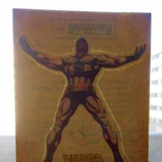 Comics : PEGATINA DE EL CAPITÁN MARVEL CALCOMANÍAS ORTEGA ADHESIVO AÑO 1973. Lote 192735645