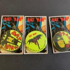 Cómics: 3 CHAPAS A ESTRENAR. BATMAN. 1989. Lote 194174203