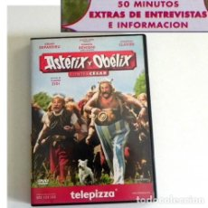 Cómics: DVD PELÍCULA ASTÉRIX Y OBÉLIX CONTRA CÉSAR BAS EN CÓMIC DEPARDIEU BENIGNI CASTA COMEDIA HUMOR EXTRAS. Lote 194301466