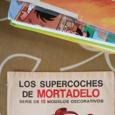 Cómics: SOBRE CERRADO LOS SUPERCOCHES DE MORTADELO BRUGUERA POR JAN . Lote 194731800