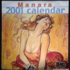 Cómics: MILO MANARA 2001 CALENDAR - HEAVY METAL. Lote 194736393