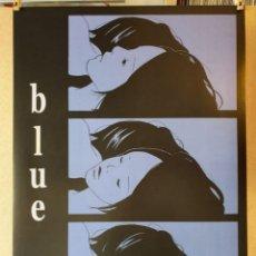 Cómics: KIRIKO NANANAN, BLUE - LITOGRAFÍA GRANDE ORIGINAL CON COPYRIGHT. Lote 194952577