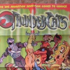Cómics: THUNDERCATS CARTEL PROMOCIONAL 2002 EDITORIAL WILDSTORM. Lote 195032223