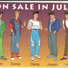 Cómics: NEW KIDS ON THE BLOCK DESLEGABLE PROMOCIONAL COMICS AÑOS 90. Lote 195032440