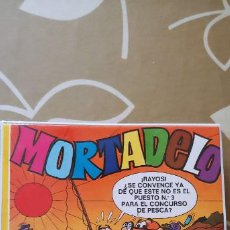 Cómics: CARPETA COMIBLOC PLASTINOVA MORTADELO FRANCISCO IBÁÑEZ BRUGUERA 1977 ORIGINAL. Lote 195209947