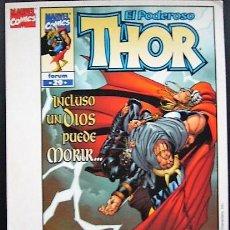 Cómics: THOR - TARJETA PUBLICITARIA. Lote 195375566