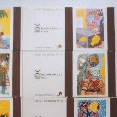 Cómics: COLECCIÓN COMPLETA 10 CAJAS CERILLAS ELECTRÓNICA IBÉRICA FRANCISCO IBÁÑEZ (MORTADELO BRUGUERA) . Lote 195393121