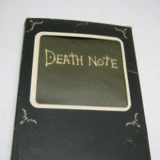 Cómics: CUADERNO DE MUERTE - DEATH NOTE ANIME MANGA - SIN USO. Lote 195431902