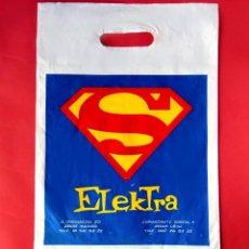 Cómics: BOLSA DE PLÁSTICO DE SUPERMAN - TIENDAS ELEKTRA COMIC - 1990 - DC COMICS. Lote 196163885