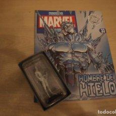 Comics: FIGURAS MARVEL - EL HOMBRE DE HIELO - FIGURA Y FASCICULO - SIN ABRIR - BUEN ESTADO. Lote 196653306