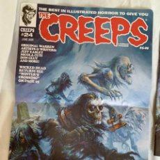 Cómics: POSTER JEFF EASLEY PORTADA THE CREEPS 24 - WARRANT PUBLISHING - CREEPY. Lote 196984643