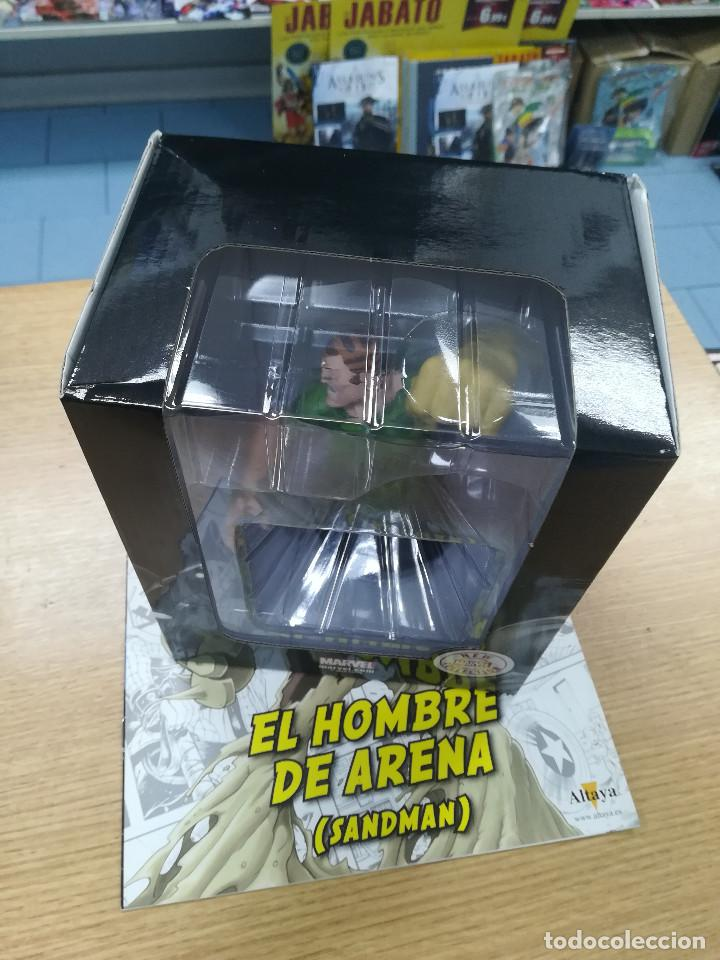 BUSTOS DE COLECCION SUPER HEROES MARVEL #33 EL HOMBRE DE ARENA (Tebeos y Comics - Comics Merchandising)