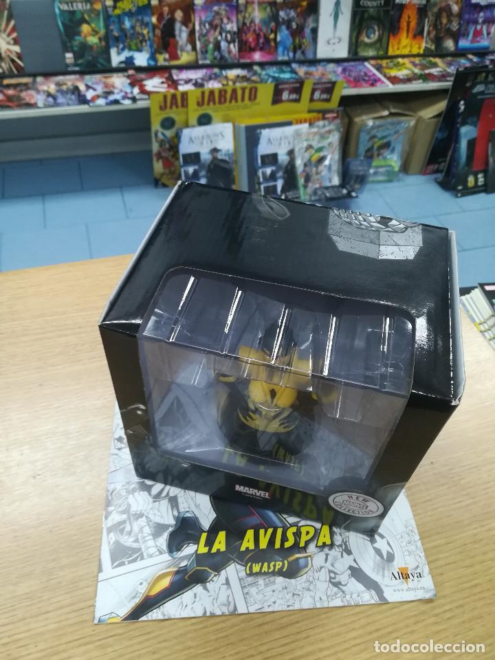 BUSTOS DE COLECCION SUPER HEROES MARVEL #43 LA AVISPA (Tebeos y Comics - Comics Merchandising)
